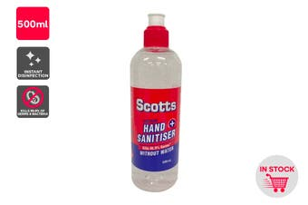 Scotts Instant Hand Sanitiser (500ml)