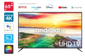 "Kogan 65"" 4K UHD HDR LED Smart TV Android TV™ (Series 9, RT9210)"