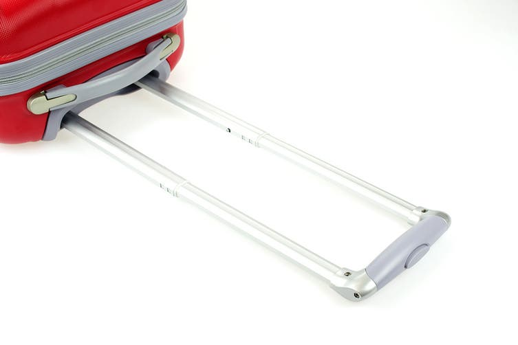 Orbis 3 Piece Hardside Spinner Luggage Set (Strawberry)