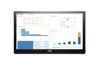 "AOC 15.6"" 1366x768 USB Monitor (E1659FWU)"