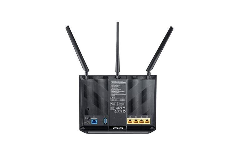 ASUS Wireless AC1900 Gigabit ADSL/VDSL Modem Router (DSL-AC68U)