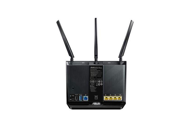 ASUS Wireless AC1900 Concurrent Dual Band Multifunctional Wireless Router AI Mesh Compatible (RT-AC68U)