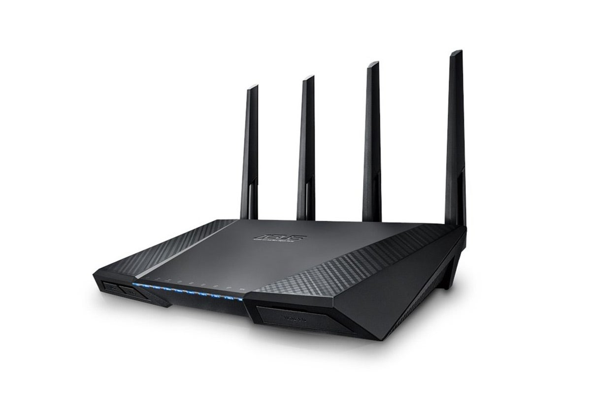 Networking & Wireless - ASUS Wireless N2400 Dual Band 4x4 Wireless AC Gigabit Router (RT-AC87U)