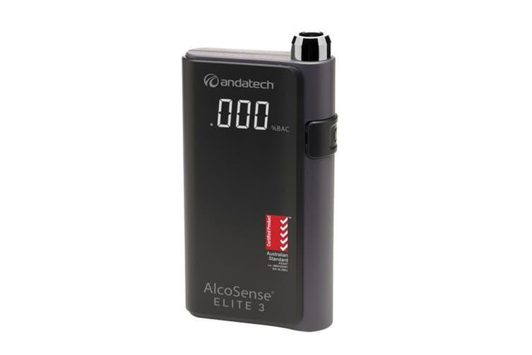Andatech AlcoSense Elite 3 Platinum Fuel Cell Personal Breathalyser (ALS-ELITE3)