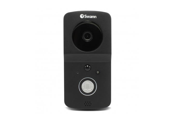 Swann Wire-Free 720p HD Smart Video Doorbell Kit with Chime Unit (SWADS-WVDP720CM)