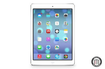 Apple iPad Air Refurbished (32GB, Cellular, Silver) - A Grade