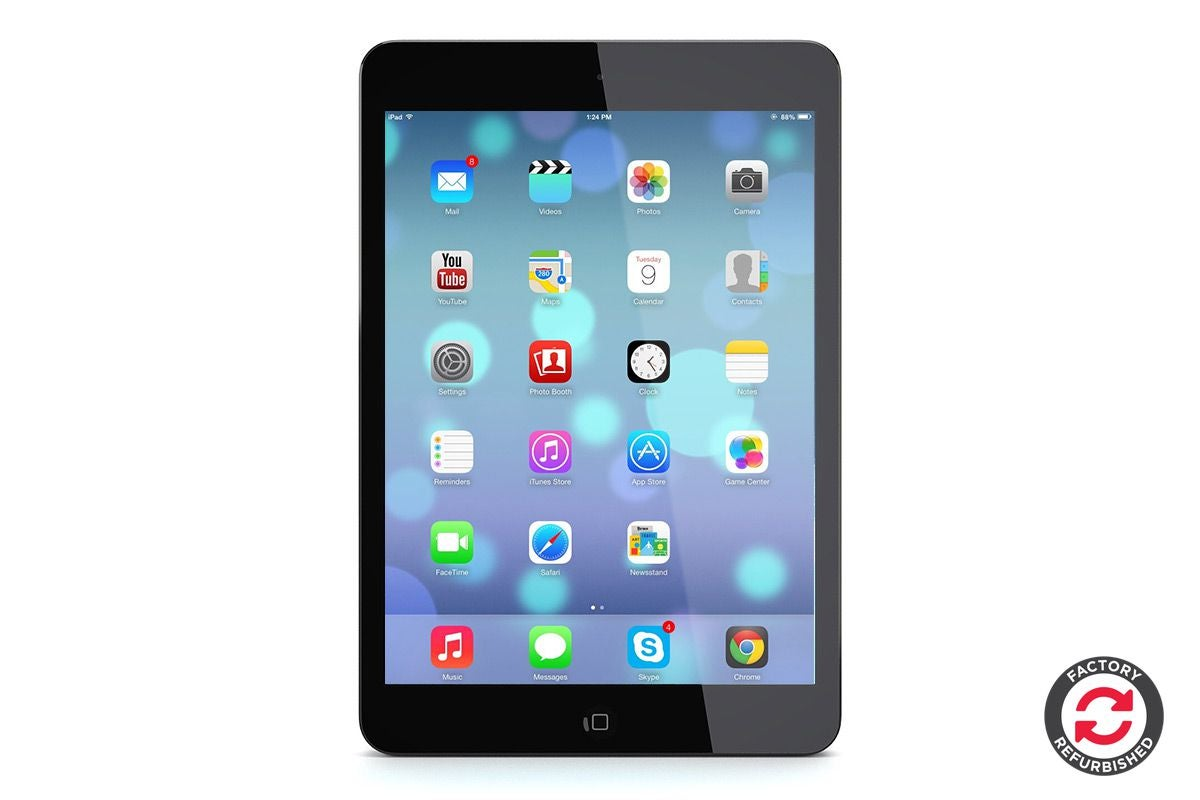 Splinternye Apple iPad Mini 2 Refurbished (16GB, Cellular, Space Grey) - A SL-71