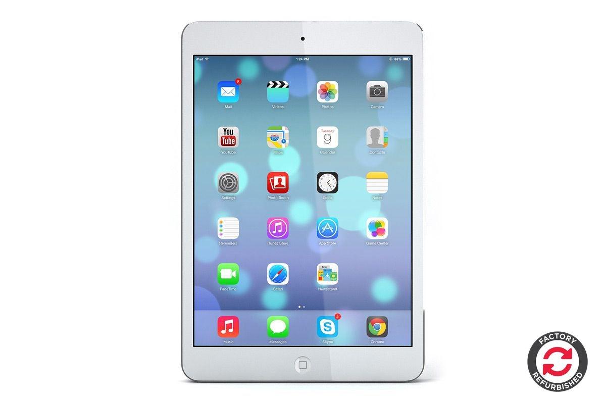 Topmoderne Apple iPad Mini 2 Refurbished (16GB, Cellular, Silver) - A+ Grade NG-97