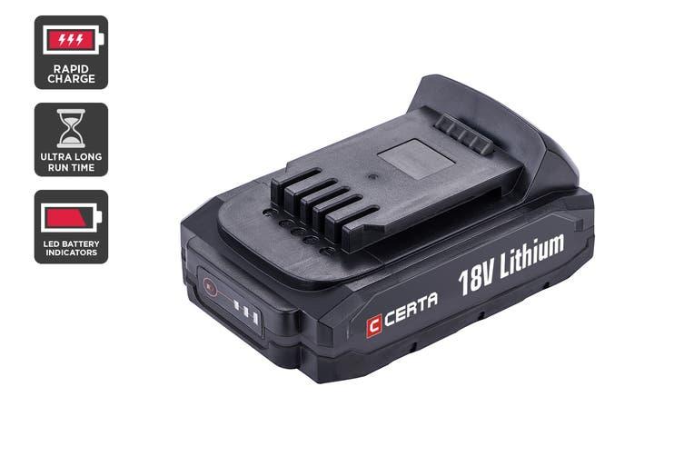 Certa PowerPlus 18V 2.0Ah Lithium Battery