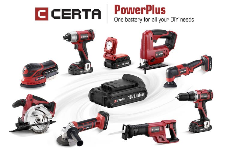 Certa PowerPlus 18V Cordless Circular Saw (Skin Only)
