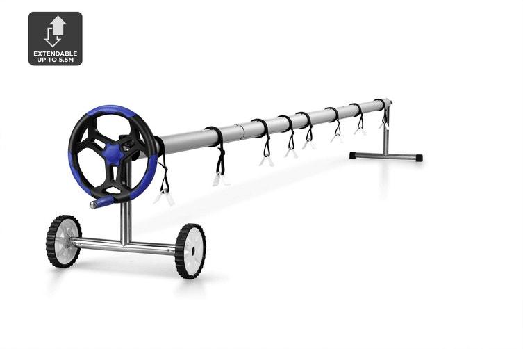 Certa Adjustable Swimming Pool Cover Roller Reel (4.3m - 5.5m Width)