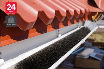Certa Nylon Brush Gutter Guards 92x10cm (24 Pack)