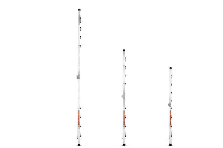 Certa 4.49m Ultimate Multipurpose Aluminium Foldable Telescopic Ladder