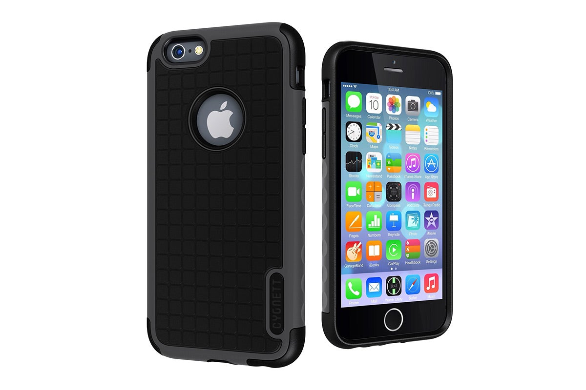Cases - Cygnett Workmate Evolution Protective Case for iPhone 6 (Black/Grey)