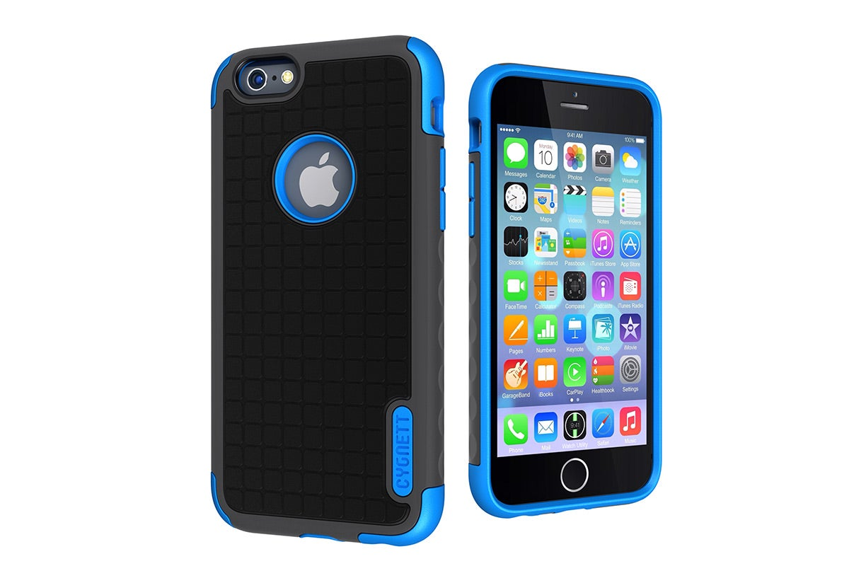 Cases - Cygnett Workmate Evolution Protective Case for iPhone 6 (Grey/Blue)