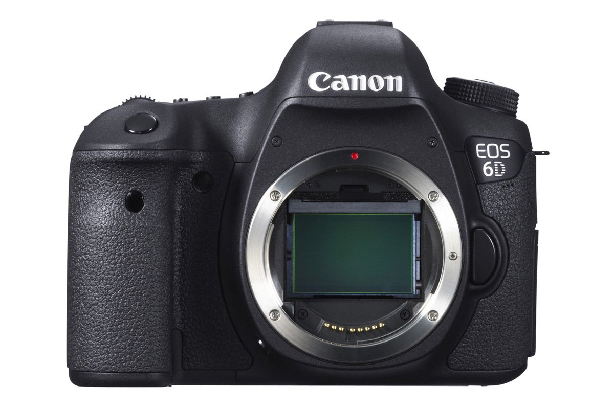 DSLR Cameras - Canon EOS 6D DSLR Body Only (Black)