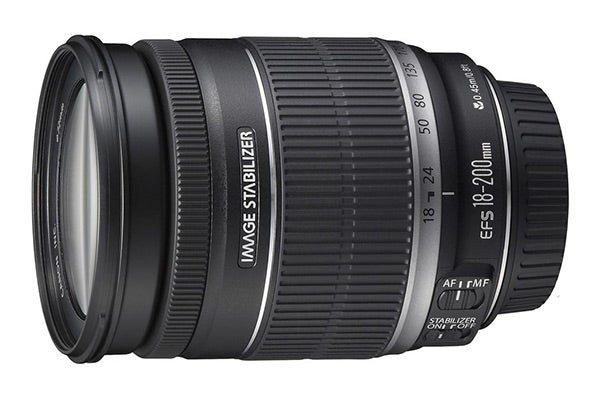 Canon Lenses - Canon EF-S 18-200mm F3.5-5.6 IS Standard Zoom Lens