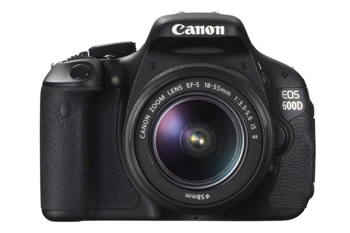 DSLR Cameras - Canon EOS 600D DSLR Camera with EF-S 18-55mm IS II Lens Kit