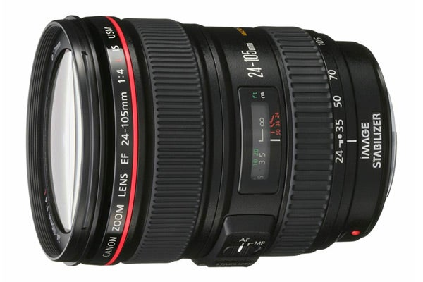 Canon Lenses - Canon EF 24-105mm f/4L IS USM Lens