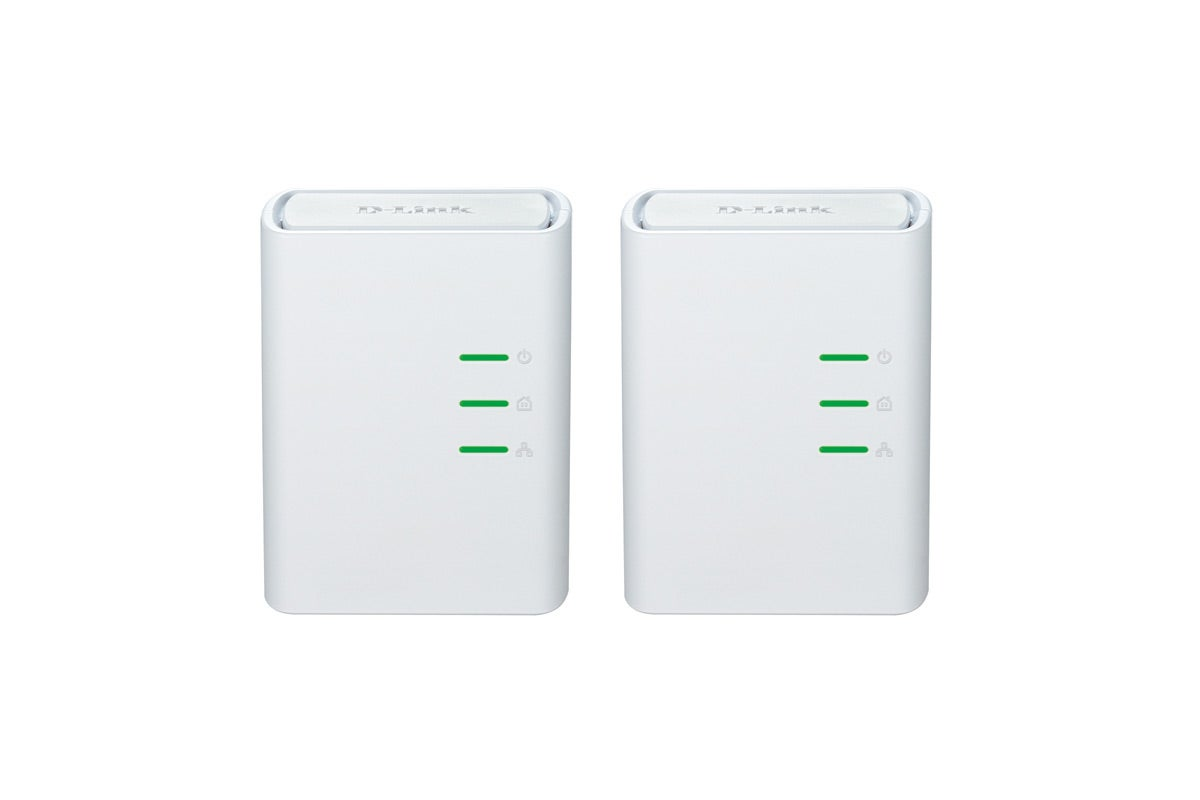 Networking & Wireless - D-Link PowerLine AV 500 Mini Network Starter Kit (DHP-309AV)
