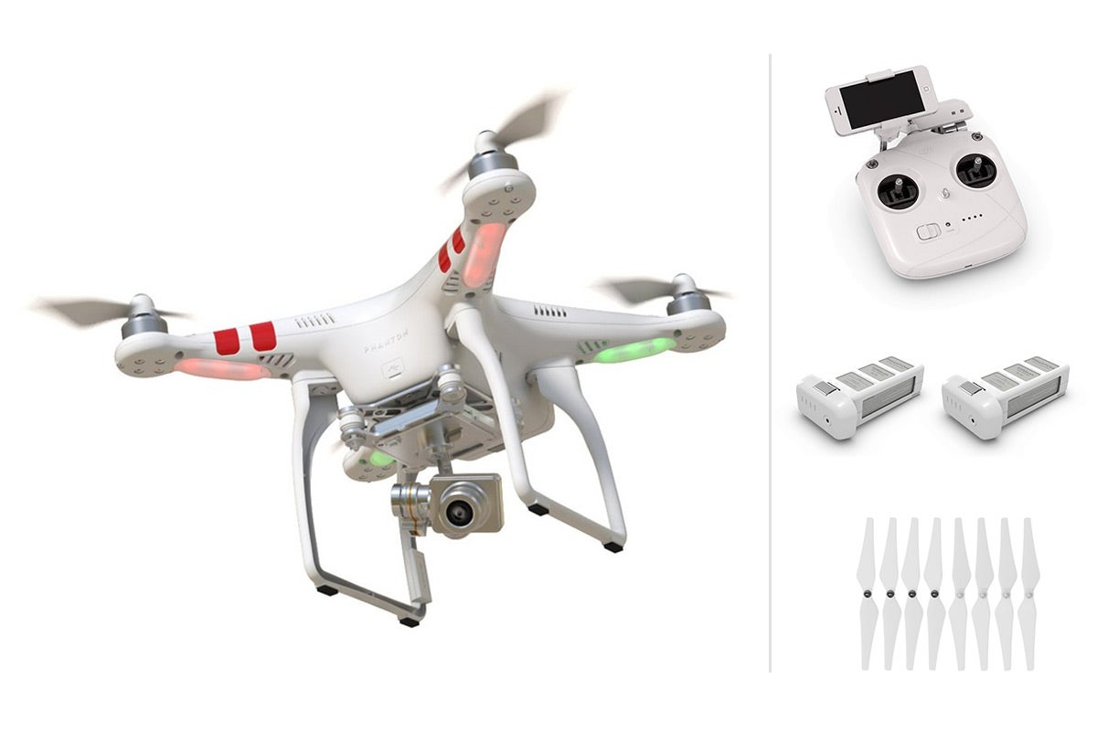 Drones - DJI Phantom 2 Vision+ with Extra Battery