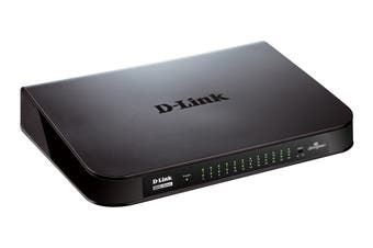 D-Link 24-Port Gigabit Desktop Switch (DGS-1024A)