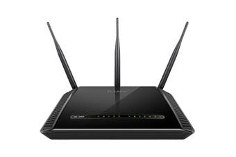 D-Link Python - Dual Band Wireless AC1600 Gigabit ADSL2+/VDSL2 Modem Router (DSL-2888A)
