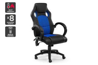 Ergolux Trooper Gaming Massage Chair (Blue)
