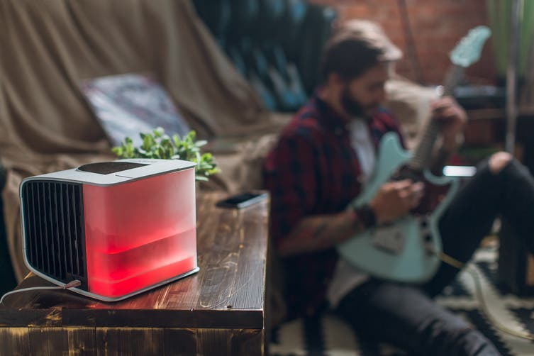 evaSMART USB Personal Air Cooler by Evapolar - Coal Black