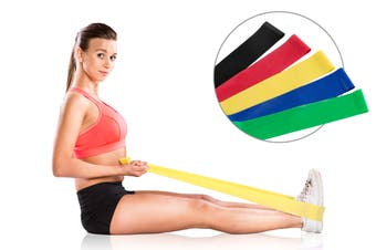 5 Piece Resistance Band Set