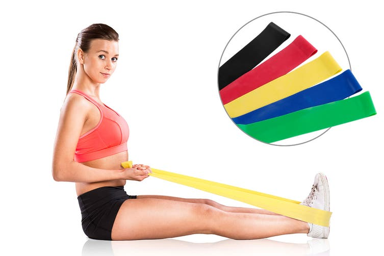 Dick Smith | 5 Piece Resistance Band Set | Fitness Equipment » Workout  Equipment