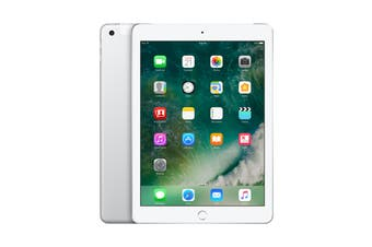 Apple iPad 2017 (128GB, Cellular, Silver)