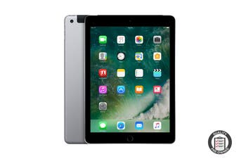 Apple iPad 2017 Refurbished (128GB, Cellular, Space Grey) - A Grade