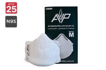 AP Mascarillas M10 N95 Particulate Respirator Mask (25 Pack)