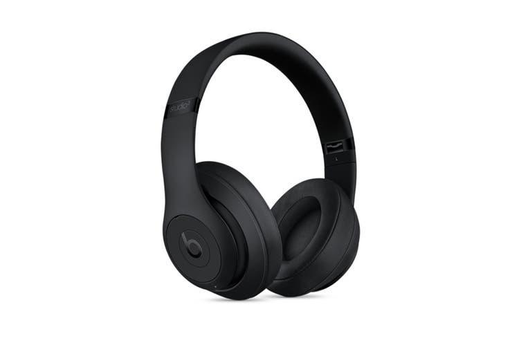 Beats Studio3 Wireless Over-Ear Headphones (Matte Black)