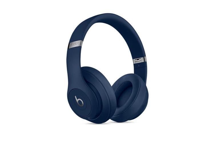 Beats Studio3 Wireless Over-Ear Headphones (Blue)