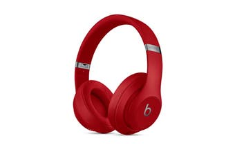 Beats Studio3 Wireless Over-Ear Headphones (Red)