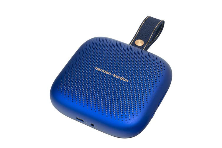 Harman Kardon Neo Portable Bluetooth Speaker (Midnight Blue)