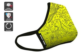 Banana Beach Reusable 95 Face Mask