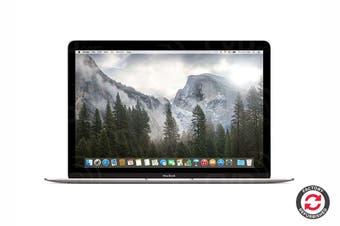 "Apple 12"" Macbook MLHA2 Refurbished (256GB, 1.1GHz m3, Silver) - A Grade"