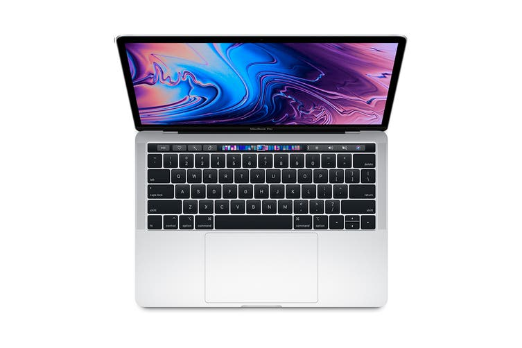 """Apple 13"""" MacBook Pro with Touch Bar (2.3Ghz i5, 8GB RAM, 512GB SSD, Silver) - MR9V2"""