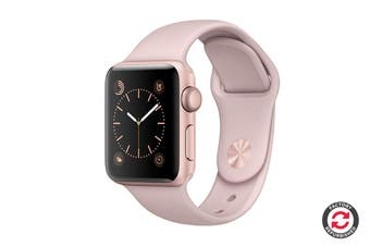 Apple Watch Series 3 Refurbished (Gold, 42mm, Pink Sand Sport Band, GPS Only) - A Grade