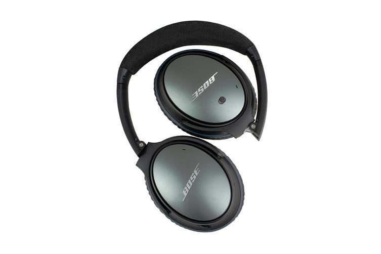 Bose QuietComfort 25 Headphones (Black, iOS)