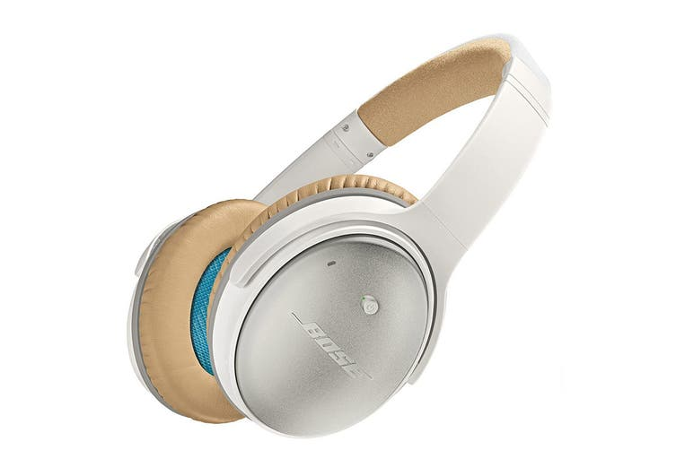 Bose QuietComfort 25 Headphones (White, iOS)