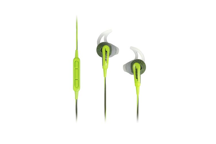 Bose SoundSport In-ear Headphones (Green, iOS)