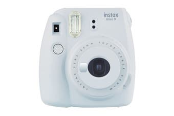 Fujifilm Instax Mini 9 Instant Camera (Smokey White)