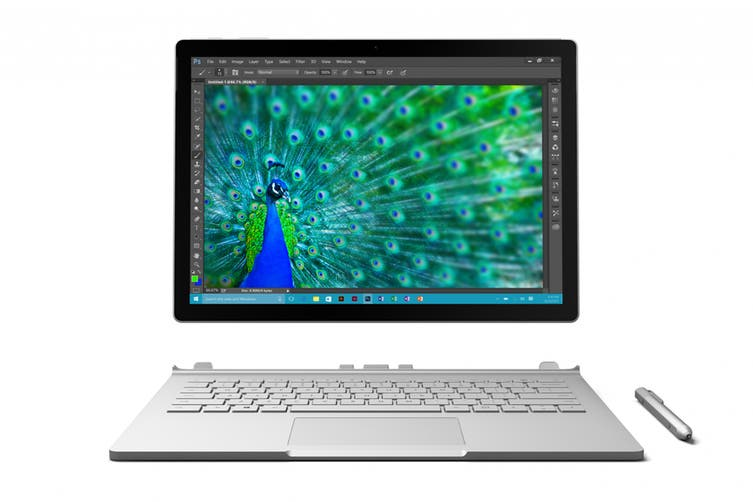 Microsoft Surface Book (256GB, i7, 8GB RAM, Nvidia dGPU)