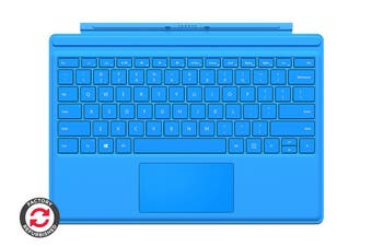 Microsoft Surface Pro Type Cover (Bright Blue) - Certified Refurbished