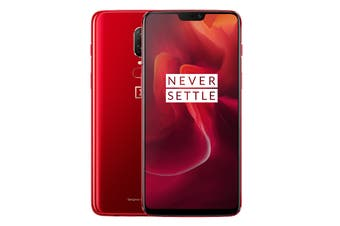 OnePlus 6 (128GB, Red)