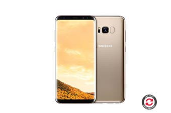 Samsung Galaxy S8 Refurbished (64GB, Maple Gold) - A Grade